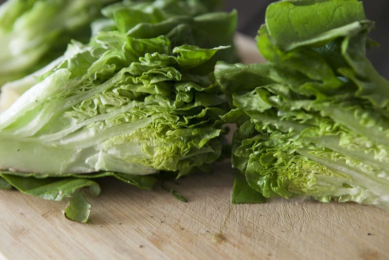 You'll start to love lettuce once you make this Braised Lettuce recipe! Braising consists of lightly frying, and then simmering like a stew for full flavor!