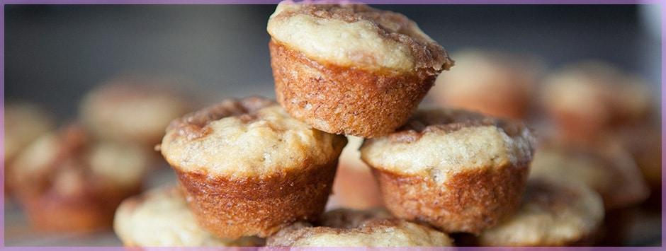Mini & Moist Banana Muffins | Brooklyn Farm Girl