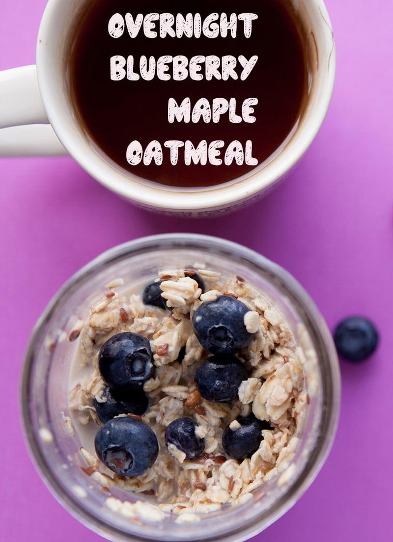 refrigerator oatmeal blueberry