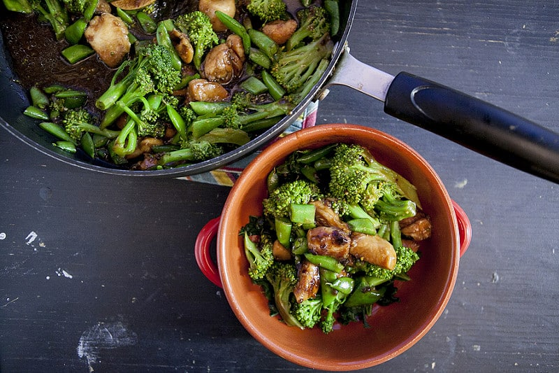 chinese chicken broccoli