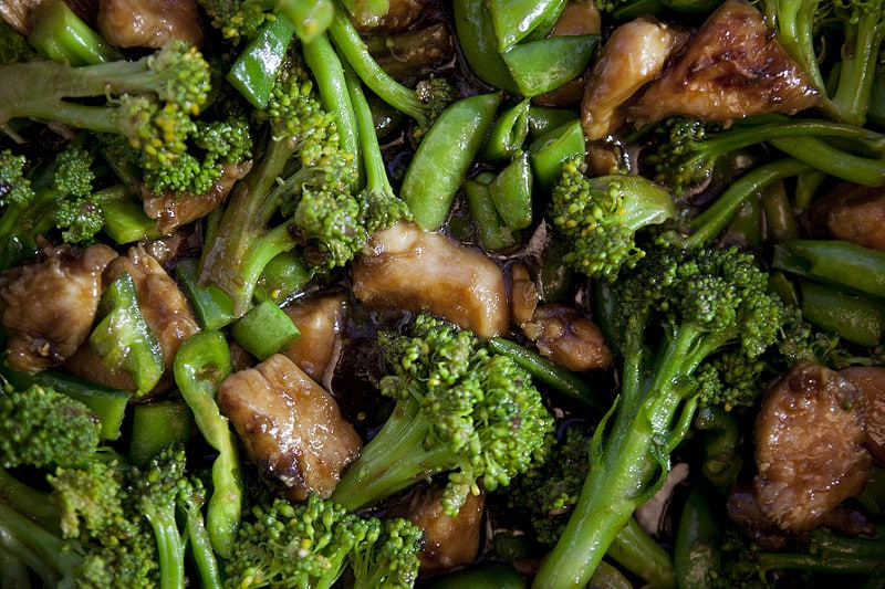 chicken and broccoli chinese