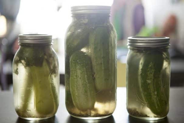 The BEST Half Sour Pickles recipe there is! These easy homemade pickles taste just like New York Crunchy pickles. No canning is needed to make these delicious pickles, just throw them in the refrigerator for a few days!  Make them to find out why they're so popular!