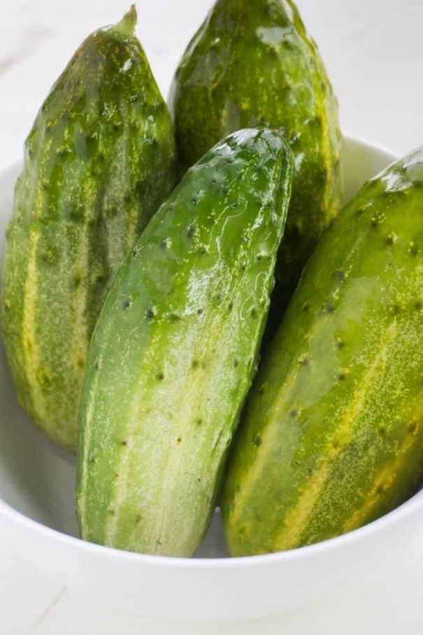 Half Sour Pickles Recipe
