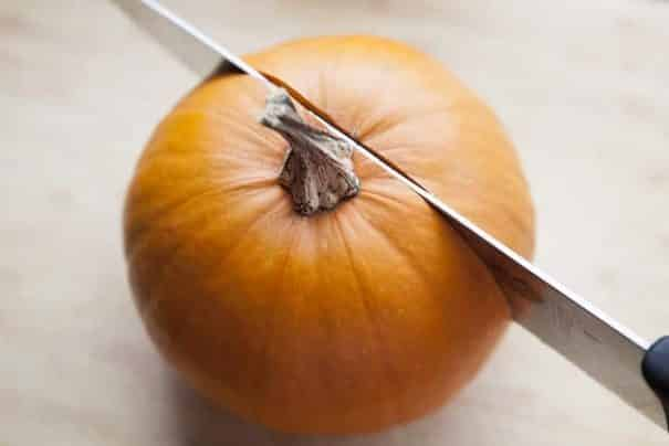 EASY Step by Step Instructions on how to make Fresh Pumpkin Puree from Pumpkins! You can use any type of pumpkin for this. Pumpkin Puree can be used in cooking and baking year round! Use this for pumpkin cookies, pies, cakes, pancakes and more!