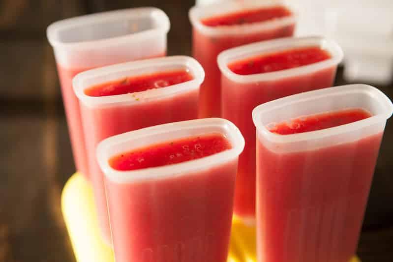 Watermelon & Strawberry Lime Mint PopsiclesIMG_4473
