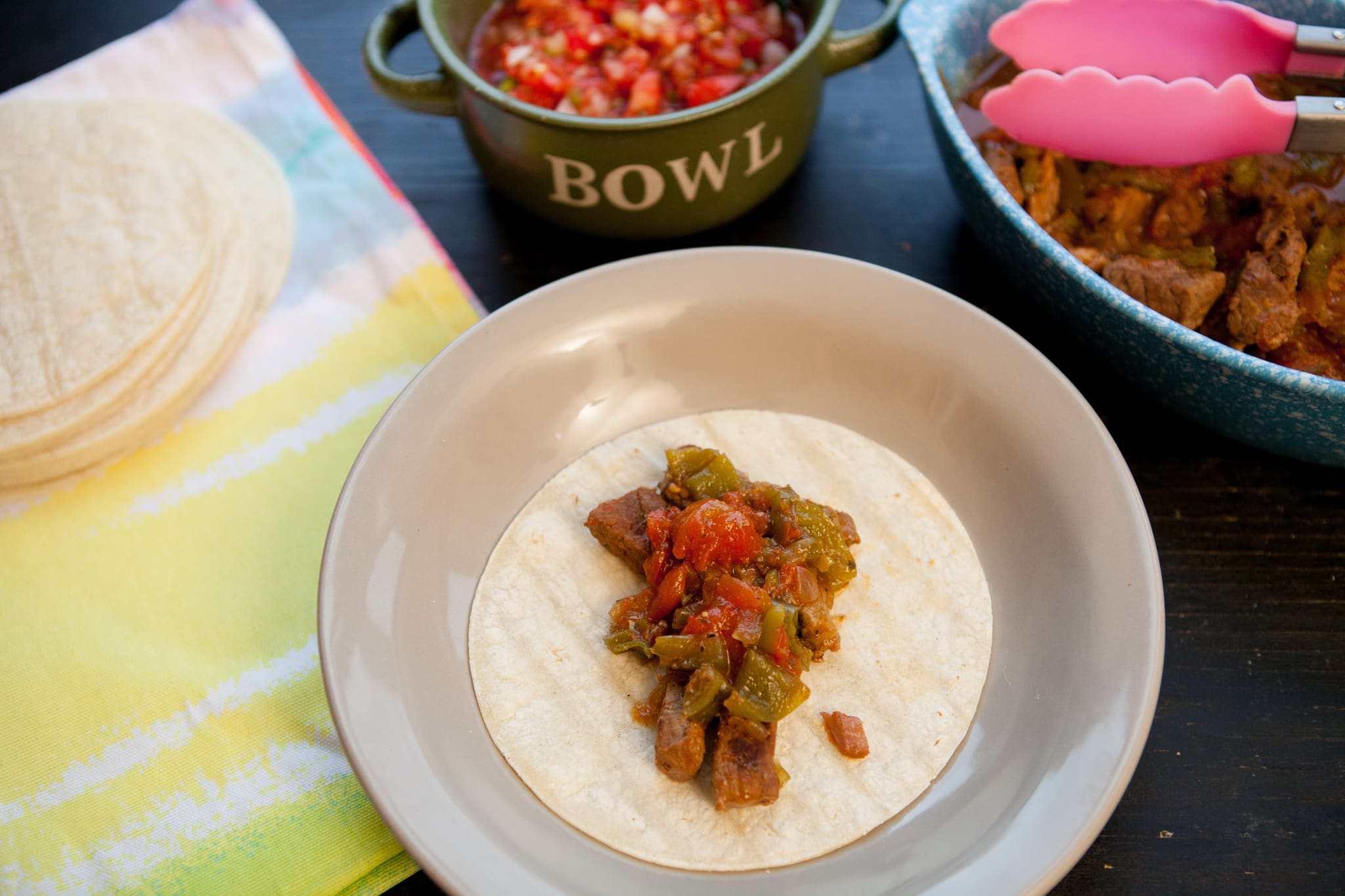 Slow Cooker Pepper Steak TacosIMG_4255