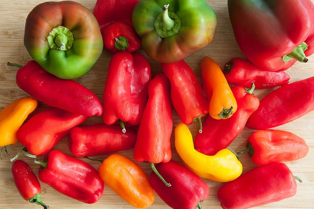 Fresh Sweet Peppers Recipe