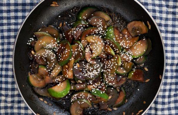Asian Marinated Cucumbers