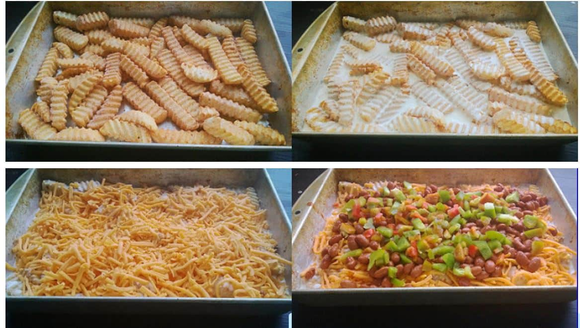 casserole step by step photos