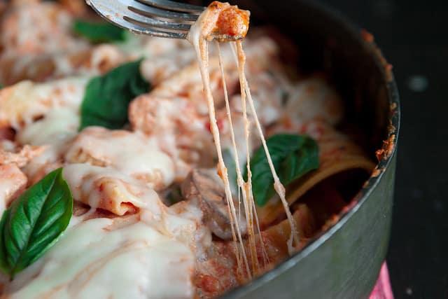 Easy Cheesy Lasagna SkilletIMG_7463