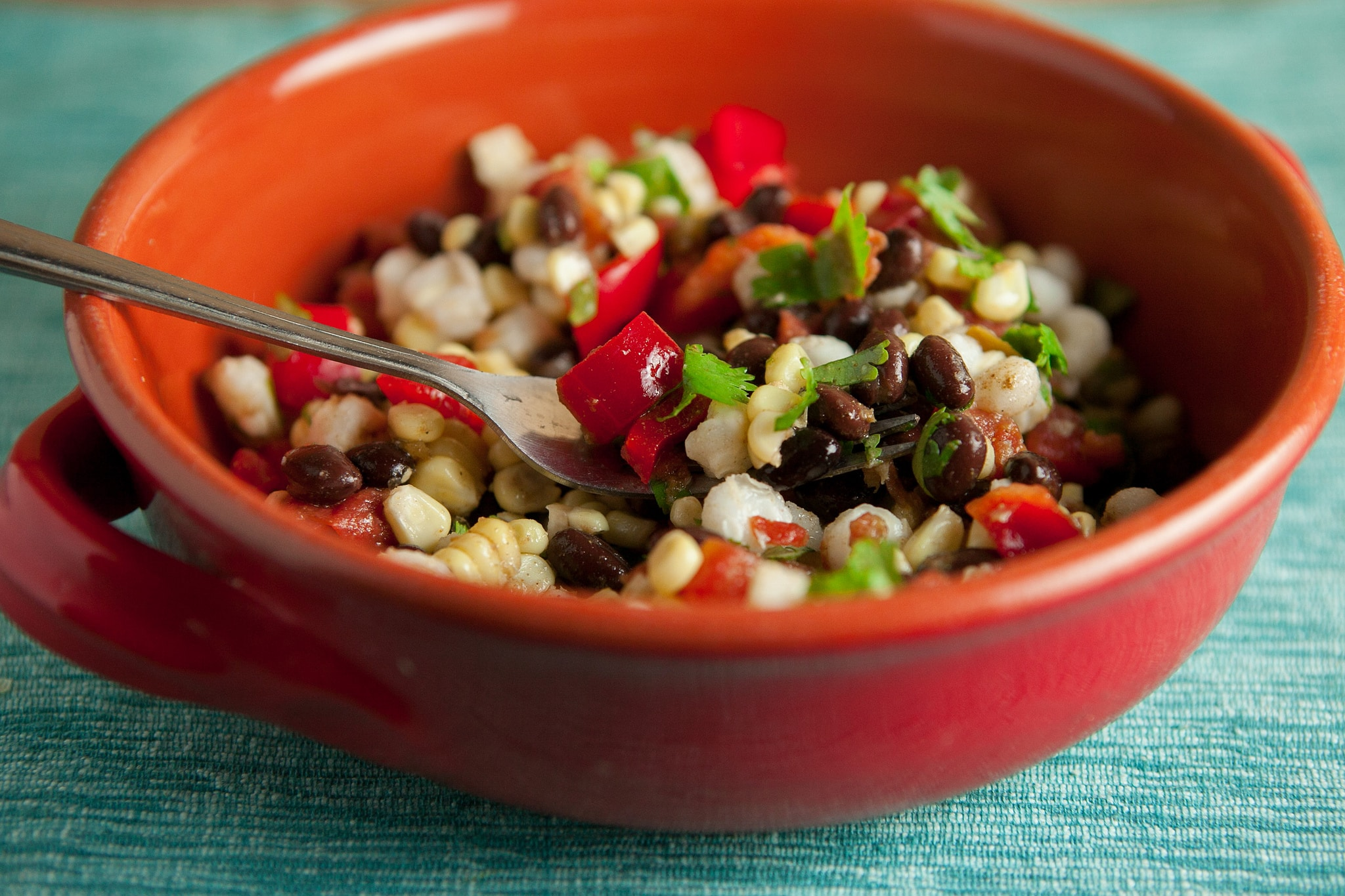 Fresh Mexican Corn Salad