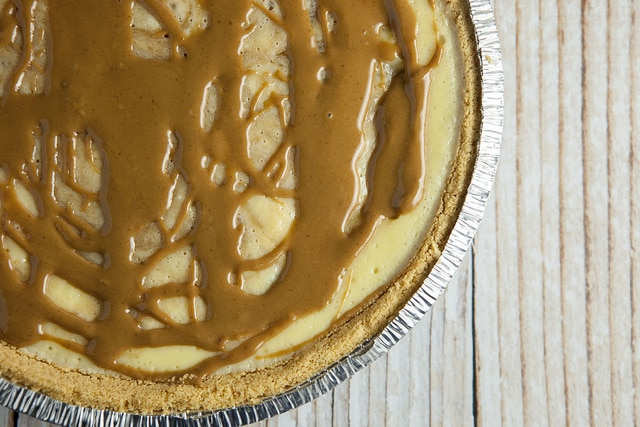 Easy to make Cookie Butter Cheesecake recipe that only requires 8 ounces of cream cheese!