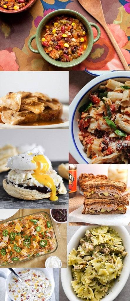Easy Leftover Turkey Dinner Ideas