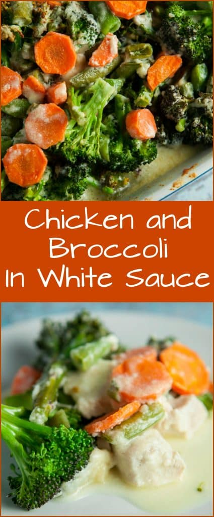Chicken and Broccoli In White Sauce is a savory Asian recipe that uses a creamy sauce. Your family will fall in love with it!