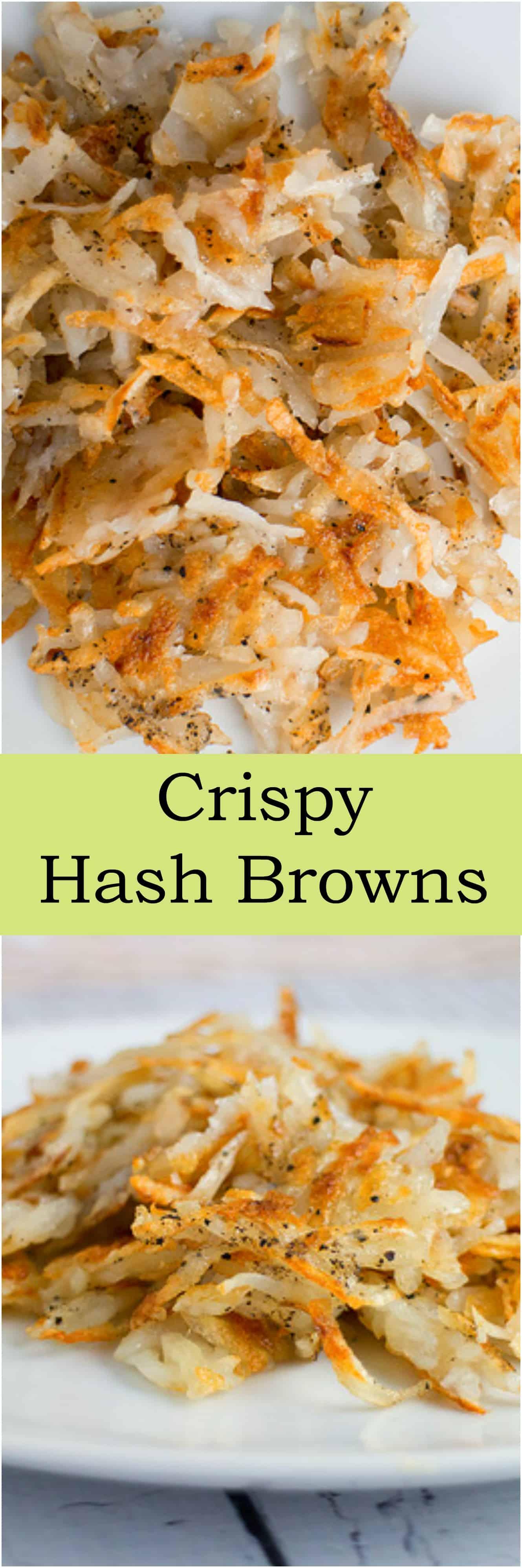 Crispy Hash Browns - Brooklyn Farm Girl