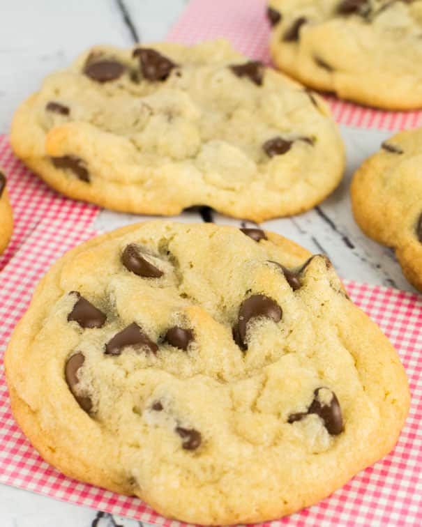 Perfect  Jacques Torres Chocolate Chip Cookies with slightly crisp edges, chewy middles, and the best flavor! And with my easy recipe you only need to chill the dough for 30 minutes! Try this wildly-popular chocolate chip cookie recipe for yourself. These are the best chocolate chip cookies ever!