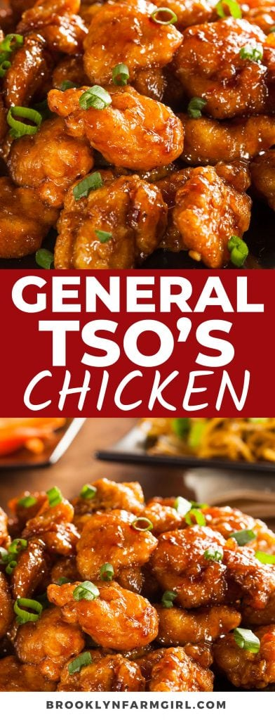 Battered and fried General Tso's Chicken is a saucy treat to replicate your favorite Chinese takeout. Dressed in a sweet and savory sauce, you won't be able to get enough!