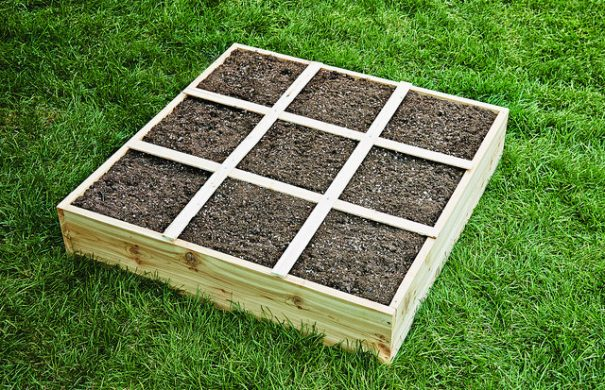 How To Build A Square Foot Garden Box With Kids