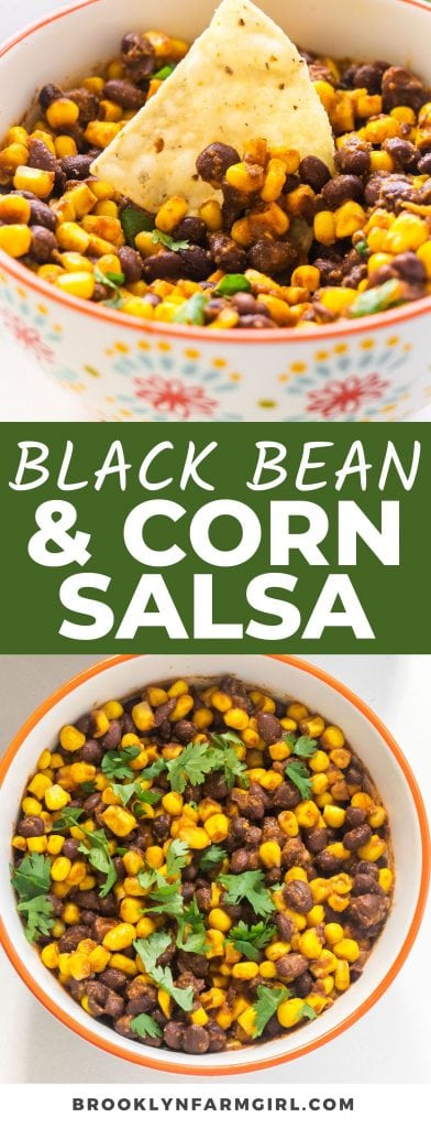 This 2-minute Black Bean Corn Salsa is a versatile and delicious topping, garnish, or side dish. Eat it with tortilla chips, play with the flavors or add-ins, or include some with your spread on Taco Tuesday. The ways to enjoy it are endless!