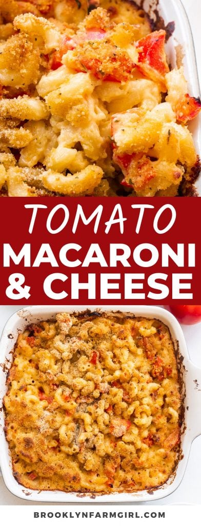Juicy tomatoes and savory seasonings baked into this Tomato Macaroni And Cheese transforms the recipe into a next-level comfort food. Great for meal prep and ready in less than 1 hour!