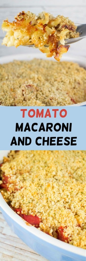 Delicious Tomato Macaroni and Cheese casserole recipe, ready in less than 1 hour.
