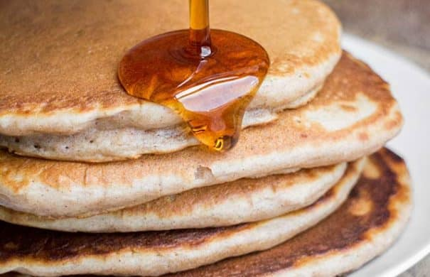 No butter homemade pancakes easy vegan pancakes recipe no butter homemade pancakes ccuart Image collections