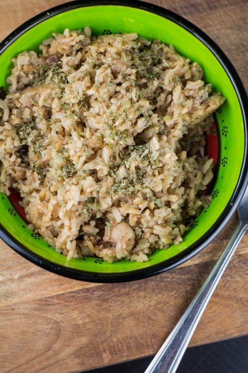Chicken Marsala with Jalapenos with Brown Rice_1