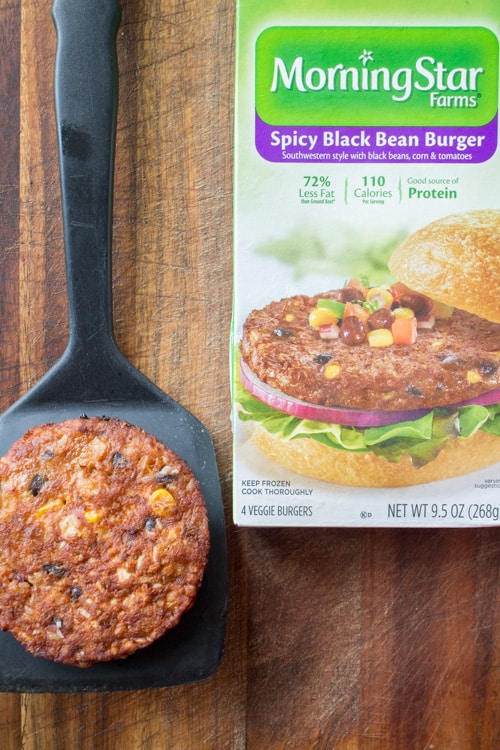 Mexican Taco Black Bean Burger