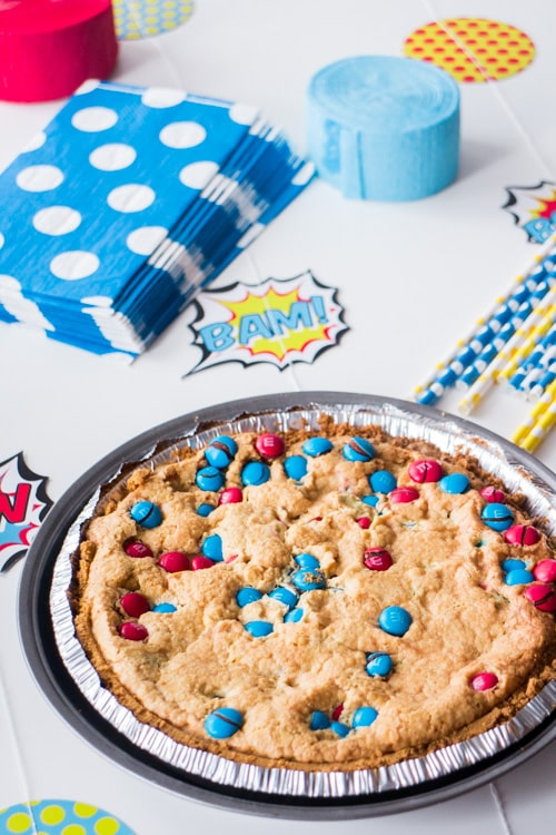 M&M's Deluxe Cookie Pie_2