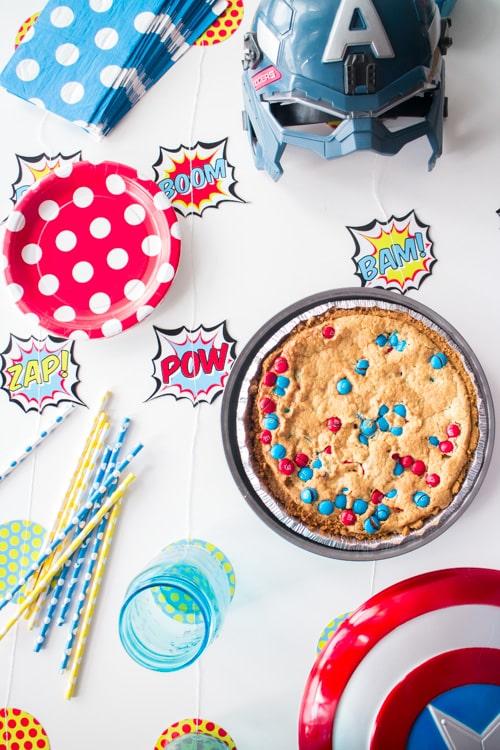 M&M's Deluxe Cookie Pie_3
