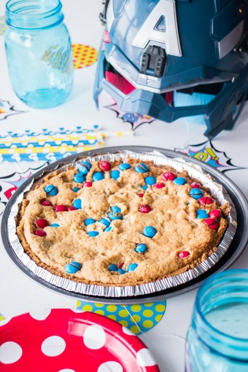 M&M's Deluxe Cookie Pie_4