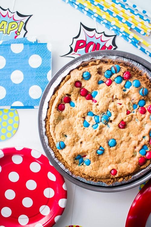 M&M's Deluxe Cookie Pie_5