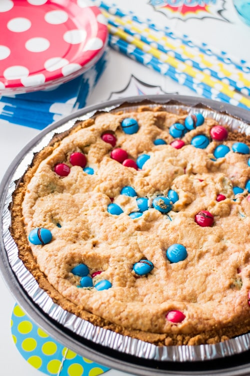 M&M's Deluxe Cookie Pie_6