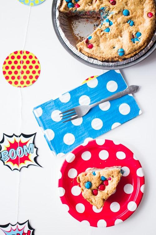 M&M's Deluxe Cookie Pie_7