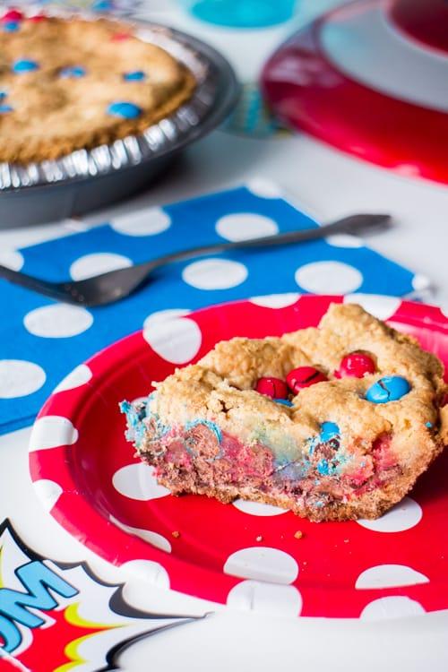 M&M's Deluxe Cookie Pie_8