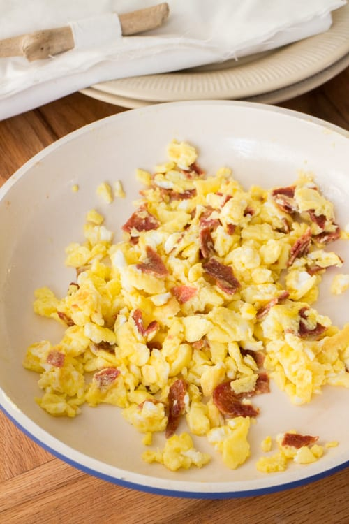 Scrambled Eggs With Bacon_3