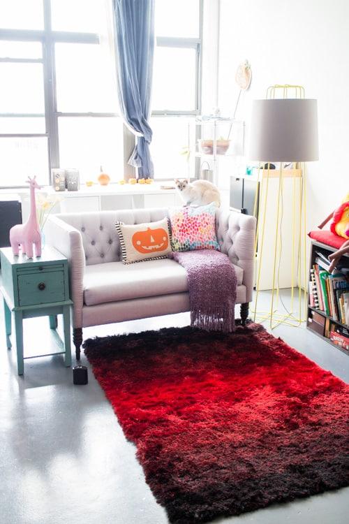 Brooklyn Loft Living Reading Nook