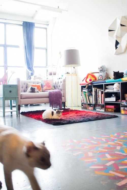 Brooklyn Loft Living Reading Nook_13
