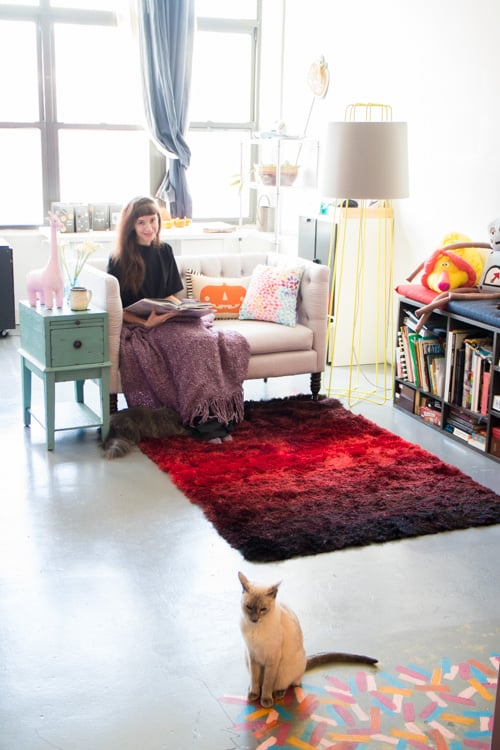 Brooklyn Loft Living Reading Nook_15