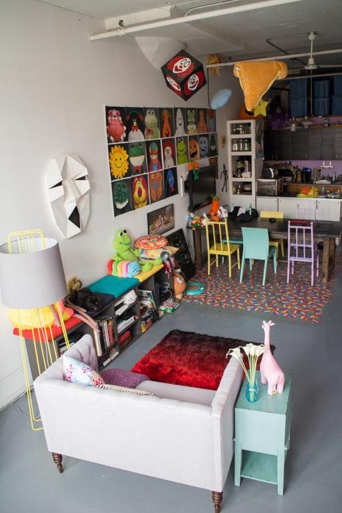 Brooklyn Loft Living Reading Nook_3