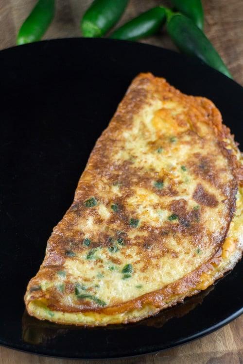 Cheesy Jalapeno Omelet _3