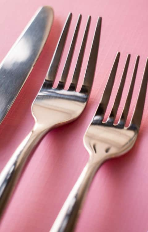 Ginkgo Simple Flatware Set