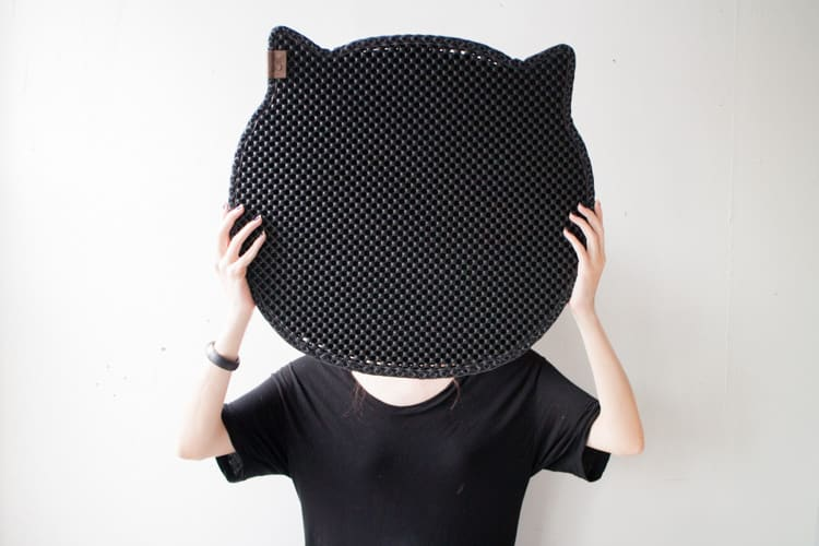 Blackhole Cat Litter Mat