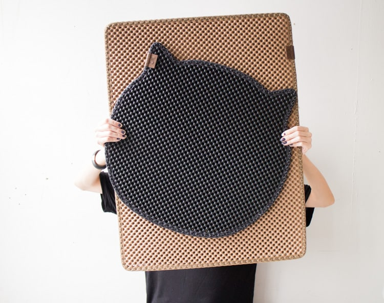Blackhole Cat Litter Mat_2