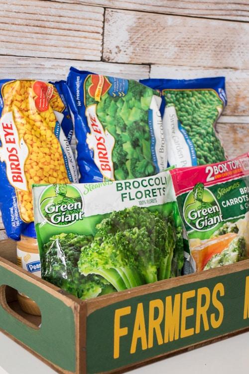 Frozen Vegetable Recipes