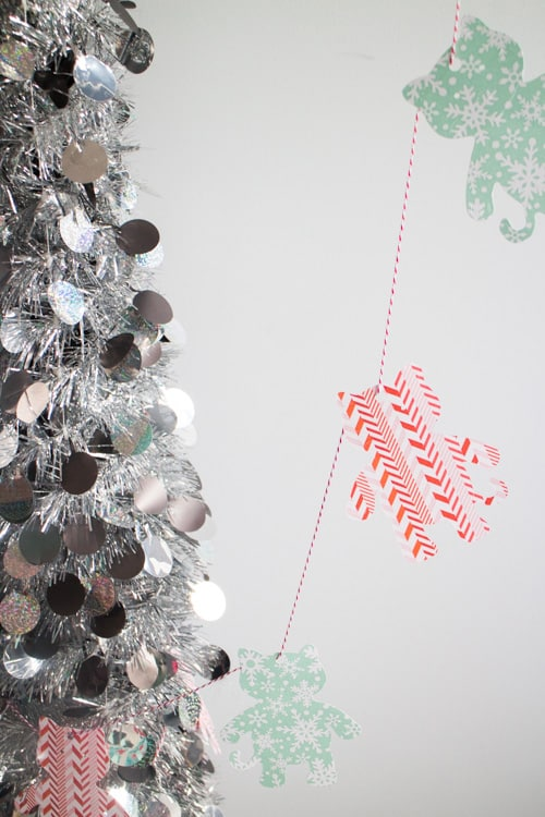Do It Yourself Home Design: How To Make Holiday Cat Garland