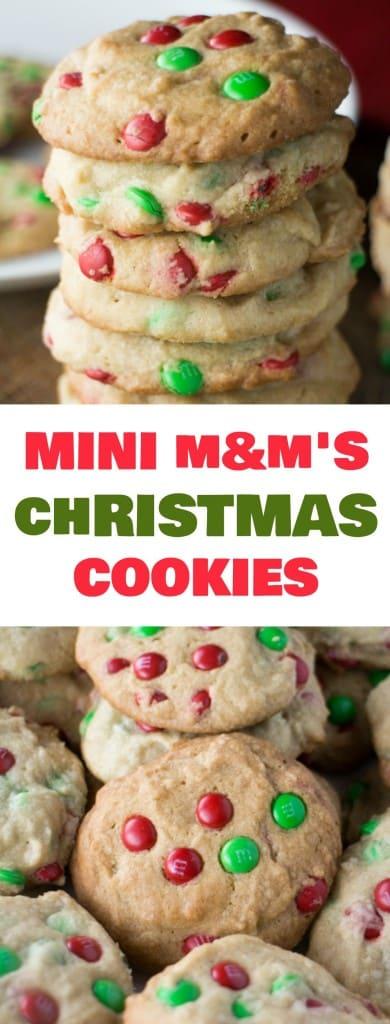 Mini M M S Christmas Cookies Brooklyn Farm Girl