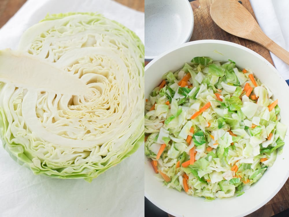 Haluski is a popular Eastern European dish, especially in Poland, that is quick and easy to make.  A big bowl of noodles and vegetables is sure to please your entire Family at dinnertime. Enjoy this delicious Haluski recipe passed on to me by my Polish grandmother!