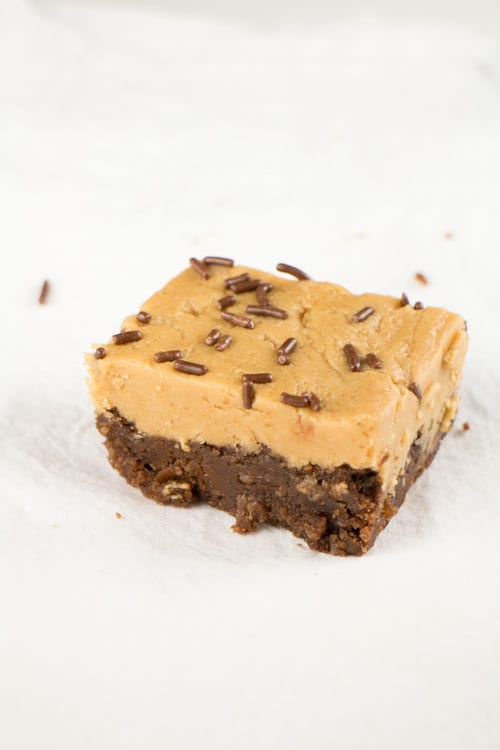 Sorta Healthy Red Bean Brownies with Sinful Peanut Butter F_6