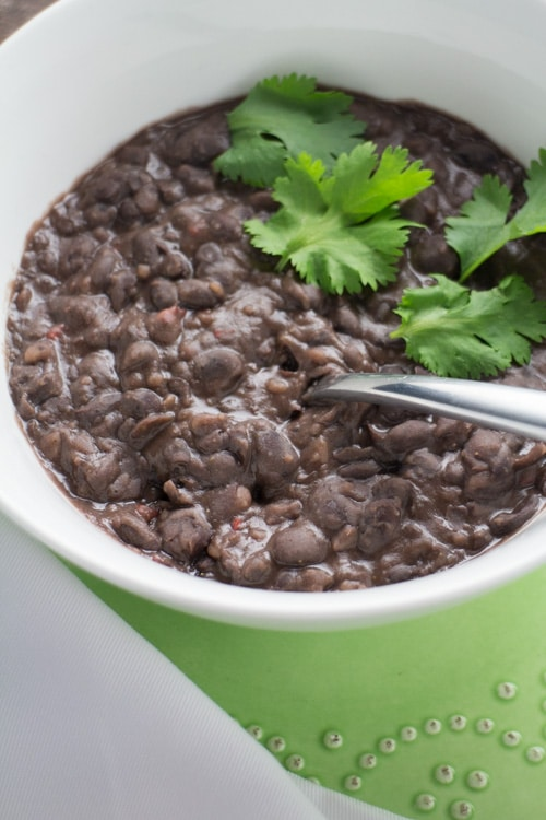 Quick and Easy Refried Black Beans_4
